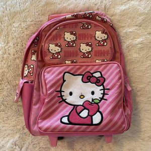 Hello kitty rolling backpack for Sale in FL, US