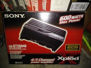 Sony 600 watts car audio for Sale in Clovis, CA