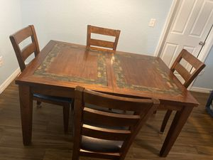 Kitchen table/coffee table/ end tables for Sale in Ocala, FL