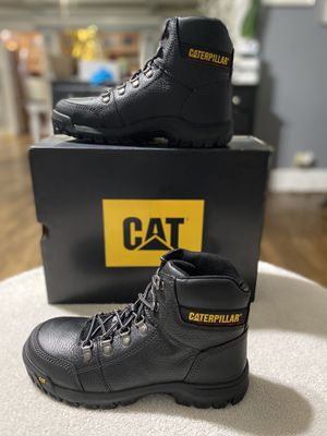 CATERPILLAR WORK BOOTS OUTLINE STELL TOE for Sale in Los Angeles, CA