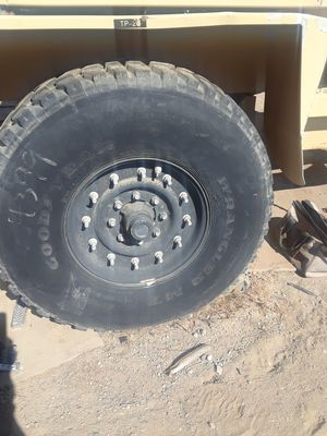 Goodyear Military Tires & Rims as a set for Sale in Phelan, CA