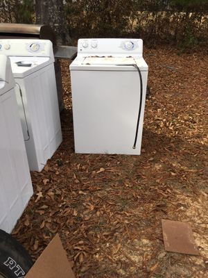 GE washers 3 washers 3 dryers sell for parts $150 One working one $125.00 for Sale in West Monroe, LA