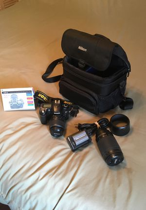 Nikon D80 w/ Accessories for Sale in Austin, TX