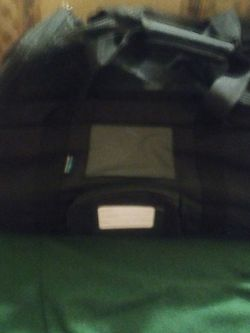 Pet Carrier With New Mediem Size Harness And Leash Bought Two At Same Time wasn't Sure On What To Get My Dog But Tried Lg First Which Worked So Don't for Sale in San Angelo,  TX