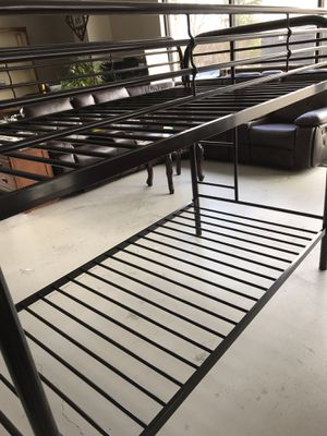 Twin/ twin bunk bed frame for Sale in Norcross, GA