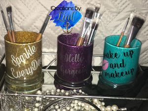 Makeup brush holders personalized for Sale in Orlando, FL
