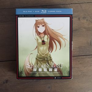 Spice & Wolf Anime - Complete Series Bluray for Sale in Cedar Hill, TX