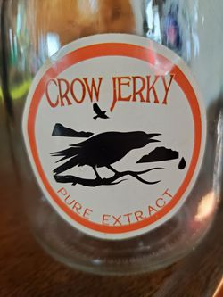 Gothic crow jerky apothecary curiosity jar for Sale in Lake Arrowhead,  CA