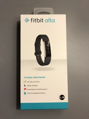 Fitbit Alta - Black - Large for Sale in Raleigh, NC