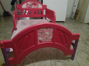 Hello Kitty toddler bed for Sale in Columbus, OH