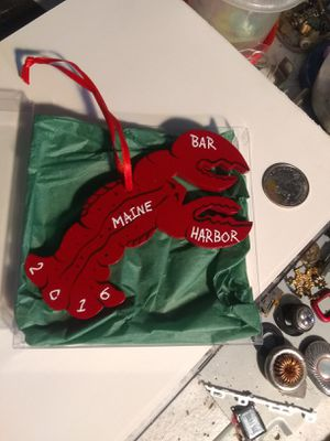 Lobster Christmas Tree ornament for Sale in Baltimore, MD
