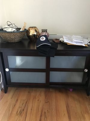 TV stand with storage for Sale in Jersey City, NJ