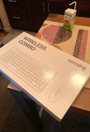 VicTsing wireless Keyboard and Mouse Combo for Sale in Seattle, WA