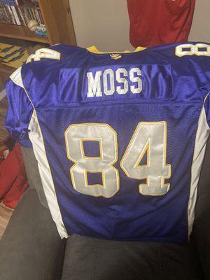 Reebok Randy Moss Minnesota Vikings jersey for Sale in Vancouver, WA