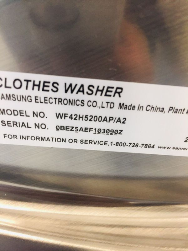 🔥🔥Samsung washer and electric dryer set in excellent condition 90 days warranty 🔥🔥