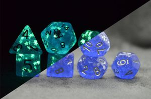 Sapphire Stars 7pc DnD Dice Set for Sale in Basking Ridge, NJ
