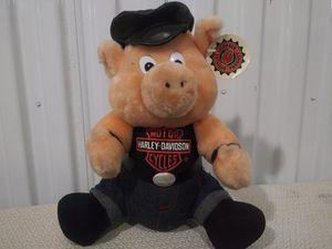 Harley Davidson stuffed hog for Sale in Renton, WA