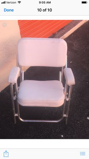 2 boat deck chairs excellent condition $275.00 for Sale in Hollywood, FL