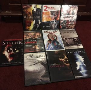 Horror DVD MOVIES ALL FOR 30$ firm.. for Sale in VLG WELLINGTN, FL