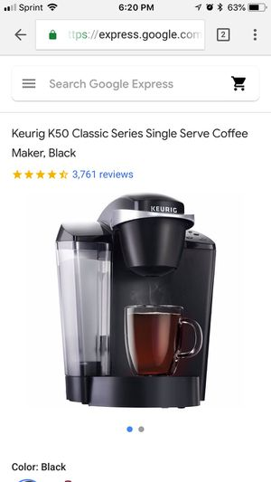 Keurig K-Cup Machine for Sale in Washington, DC