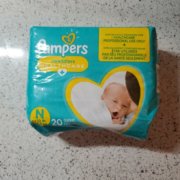 Pampers Swaddlers Diapers Newborn 20 Diapers ♡ SHIPPING ONLY ♡