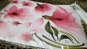 4,sheets of peel off flowers for your walls . for Sale in Columbia, TN