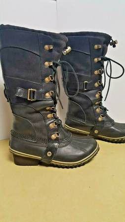 SOREL Conquest Carly Waterproof Snow Boots - Size 6 for Sale in Boulder, CO