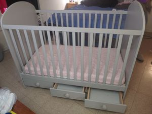 Crib ikea gray NEW!! for Sale in Baltimore, MD