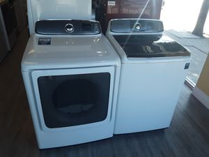 Washer Dryer Samsung Top Load for Sale in Los Angeles, CA