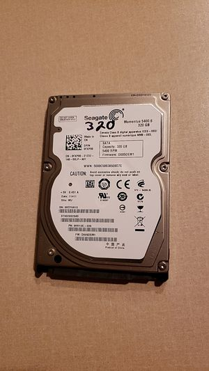 Seagate drive 320, laptop for Sale in Louisville, KY
