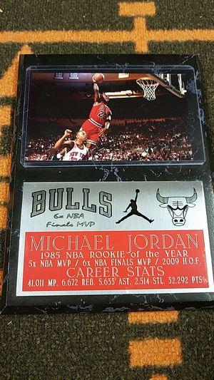Michael jordan plaque for Sale in Parma, OH
