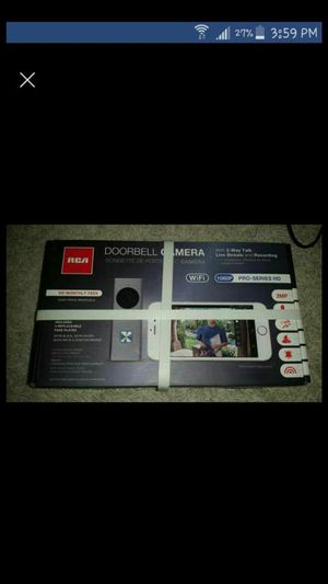 RCA DOORBELL CAMERA for Sale in Appleton, WI