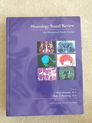 Neurology board review. Mint condition. Amazing book to review for board exam. for Sale in Sacramento, CA