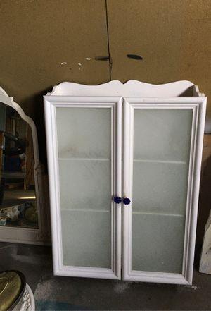 Vintage wall wooden cabinet/medicine chest for Sale in Pleasanton, CA