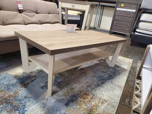 Coffee Table, Dark Taupe and Ivory for Sale in Santa Fe Springs, CA