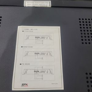 Spx Pro Audio Amplifier for Sale in Queens, NY