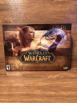 Pc world of Warcraft for Sale in Palmdale, CA