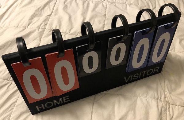 Portable Flip Sports Scoreboard