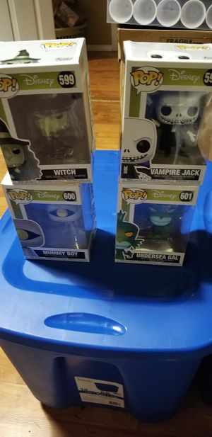 Funko pop disney nightmare before christmas set for Sale in Renton, WA