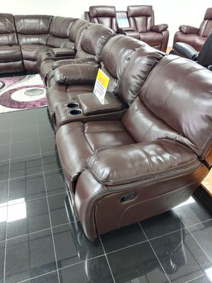 2 piece reclining loveseat and sofa for Sale in Tampa, FL