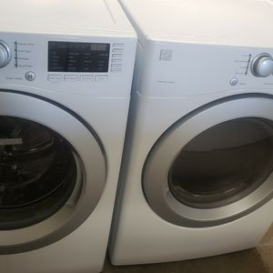 Kenmore Washer And Dryer Electric Set Warranty Financing. $50 Down If You Qualify. for Sale in Ceres, CA