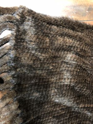Real Mink scarf/ Shaw hand crochet. New, never worn for Sale in Denver, CO