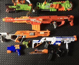 Nerf gun deluxe bundle package deal for Sale in San Ramon, CA