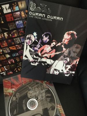 DURAN - DURAN 🎶🎸 MUSIC DVD / LIVE from LONDON Concert 🎶🎸😎 for Sale in Lincolnia, VA