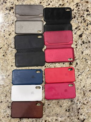 Apple iPhone X cases (10). for Sale in Oceanside, CA