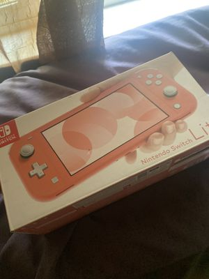 Switch lite coral for Sale in Vallejo, CA