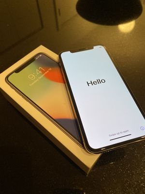 iPhone X - AT&T 64GB: Excellent Condition for Sale in Chicago, IL
