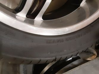 Boss wheel And Tire 22x12 Low Profile Excellent Tire Rubber for Sale in Orting,  WA
