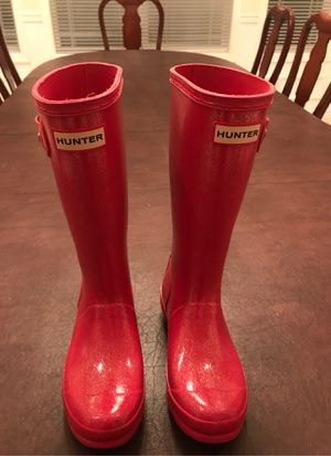 Girls Hunter Rain Boots for Sale in Auburn, WA