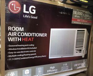 LG Portable Window AC Unit/Heat 18,000 BTU for Sale in Mint Hill, NC